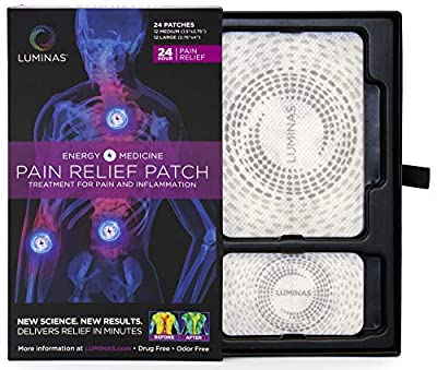 SAFE ALL-NATURAL PAIN RELIEF PATCHES target pain instantly to treat inflammation with no side effects DRUG-FREE & CHEMICAL-FREE patches for chronic pain, muscle cramp, joint pain and soreness WORKS FASTER & LASTS LONGER without medication, odors or d...