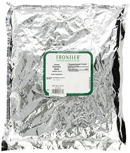 FRONTIER SO Guarana Seed Powder, 16 OZ