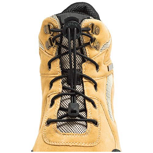 LOCK LACES for Boots (1 Pair) Premium...