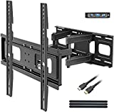 BLUE STONE Full Motion TV Wall Mounts TV Bracket for Most 32-65 Inch Flat Screen TVs, TV Mount with...