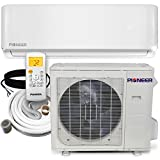 PIONEER Air Conditioner WYS036G-17 Wall Mount Ductless Inverter+ Mini Split Heat Pump, 36000 BTU-208/230 V
