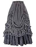 Belle Poque Edwardian Skirt for Women Victorian Renaissance Costume XL