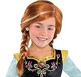 Disney Frozen Child's Wig - 2 Braids - Anna - CostumeUSA by Amscan Inc.