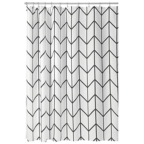 mDesign Decorative Herringbone Print - Easy Care Fabric Hotel Quality...