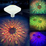 HaaWinPl Swimming Pool Lights Floating Pool Lights Underwater Waterproof Lights for Inflatable Pool,Above Ground Pool,Disco Pool Party or Pond Decorations