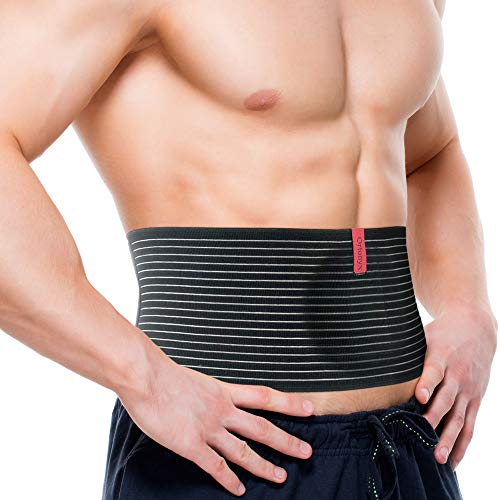 ORTONYX Umbilical Hernia Belt for Women and Men - Abdominal Support Binder with...