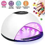 Lampe UV Sèche Ongles,Winpok 72W Lampe UV Ongles Gel Avec LCD Ecran Et 4...
