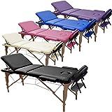 Beltom Table de Massage 3 Zones Classique Portables 180 x 56 cm. - ne...