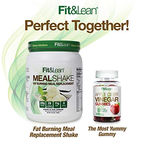 Fit & Lean Meal Shake Fat Burning Meal Replacement with Protein, Fiber, Probiotics and Organic Fruits & Vegetables and Green Tea for Weight Loss, 1lb, Chocolate, 10 Servings Per Container 11