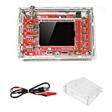 DSO 138 Oscilloscope Kit Open Source with Probe 2.4' TFT 1Msps Digital Oscilloscope Kit with DSO 138 Case + Probe 13803K for Electronic Learning Set