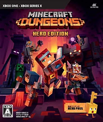マインクラフト ダンジョンズ ヒーロー エディション - XboxOne (【同梱物】「ヒーローパス」ダウンロードコード 同梱)