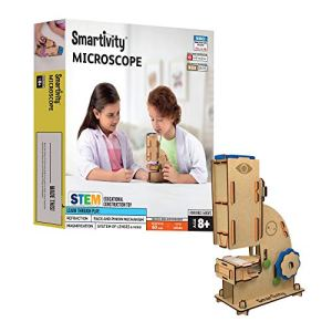 Microscope Educational DIY Building Toy Game Kit india | Science Kit with 8+with 100x zoom india