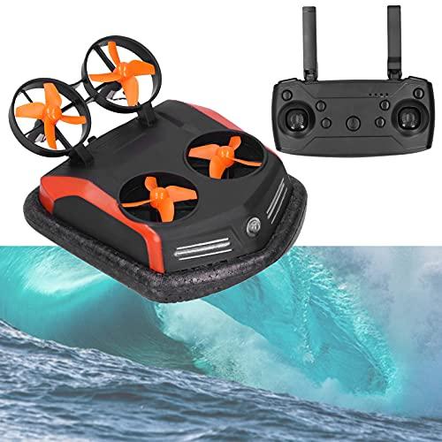 01 Drone RC, modalit Acqua/Terra/Aria 3in1 Hovercraft RC per Esterni per Uso Acquatico