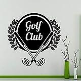 Golf logo golf sport vinilo etiqueta de la pared escena de la película