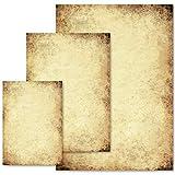 Papier à motif Certificat VIEUX PAPIER 50 feuilles DIN A4 - Paper-Media