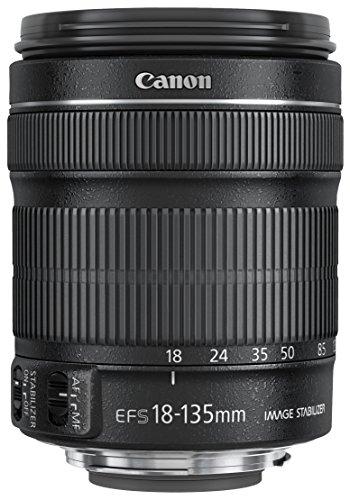 Canon Obiettivo EF-S 18-135 mm f/3.5-5.6 IS STM, Nero