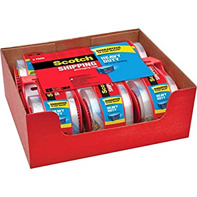 Guaranteed to stay sealed (If your box does not stay sealed, 3M will refund the purchase price of this tape). Proof of purchase required. Provides excellent holding power for heavy-duty packaging and shipping Strong seal on all box types, including h...
