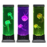 Electric Jellyfish Tanks are latest fashion in ornamental tanks for modern décor and relaxation. The jellyfish are realistic and even have the tendrils that float behind them as they move creating a realistic effect and mesmerize you, feature with co...