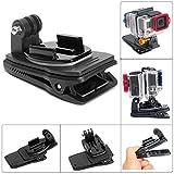 Fantaseal Dual-Cam Sac Pince, Mini Sac à Dos Clip pour Gopro Accessoires, Sac à Dos Fixation 360...