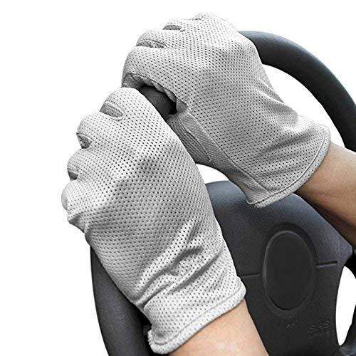 traspirante touch screen guanti a maglia antiscivolo Full finger guanto