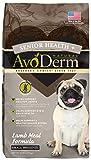 Avoderm Small Breed Senior Health+ Grain Free Lamb Meal Dry Dog Food, 4-Pound