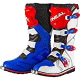 O'Neal Rider Boot MX Stiefel Blau Rot Weiß, 0329-7, Größe 43