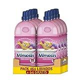 Mimosin Suavizante Moussel Concentrado, 66 Lavados x 8 Botellas