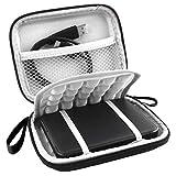 lovelyhome EVA Shockproof Portable 500GB 1TB 2TB USB 3.0 Portable 2.5 inch External Hard Drive Travel Bag (Black)