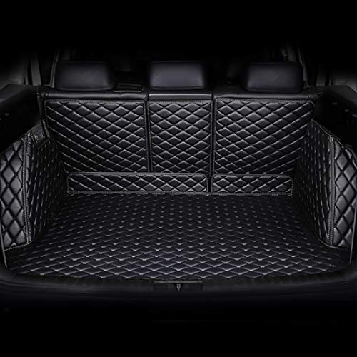 Autofurnish 7D Luxury Custom Fitted Car Trunk Mat Compatible with KIA Seltos GT Line 2019 - Black