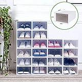 DIFU 20x boîte de Rangement boîte à Chaussures boîte de Rangement de...