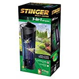 Stinger BK600 3-in-1 Insect & Mosquito Insect Zapper, Black
