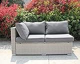 Enjoy Fit Rattan Polyrattan Lounge Sitzgruppe Garnitur Gartenmöbel aus 4 Sitze Sofa - 6