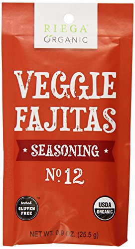 Riega Organic Veggie Fajita Seasoning (Pack of 8)