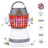 Lampe Anti Moustique LED UV Bawoo Lampe Camping 2 En 1 Lampe Torche Randonnée Rechargeable 2200mah Batterie...