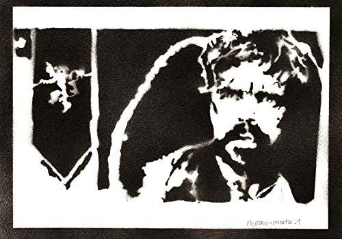 Póster Tyrion Lannister Juego De Tronos (Game Of Thrones) Grafiti Hecho A Mano - Handmade Street Art - Artwork