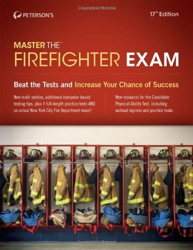 Master the Firefighter Exam by Peterson's (2013-06-04)