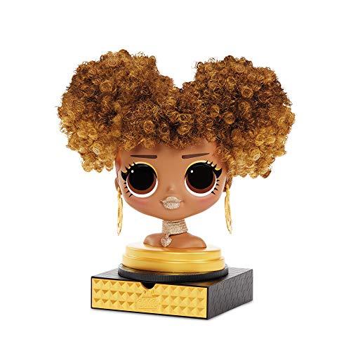 Image 3 - LOL Surprise Tête à coiffer OMG avec perruques aux coiffures infinies - 30 surprises et accessoires - Royal Bee