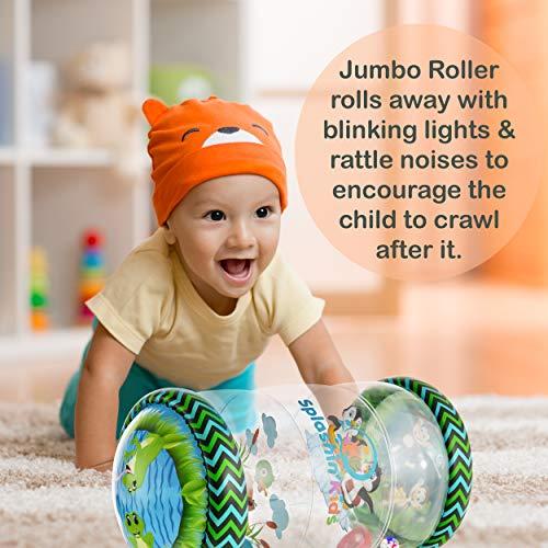 Splashin'kids Infant Toys Beginner Crawl Along Game Ball...