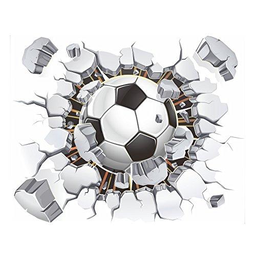 3D Soccer Wall Decal