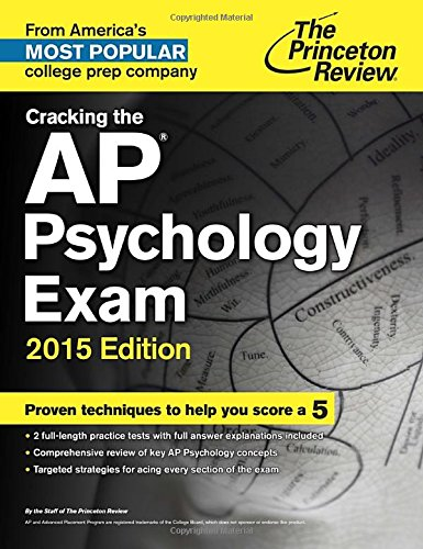 Cracking the AP Psychology Exam, 2015 Edition (College Test...
