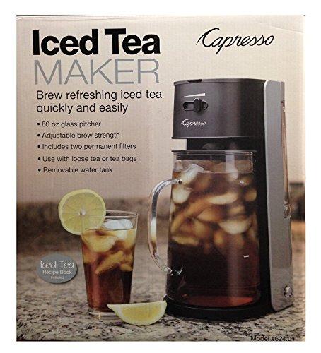 Capresso Ice Tea Maker #624 Black & Silver