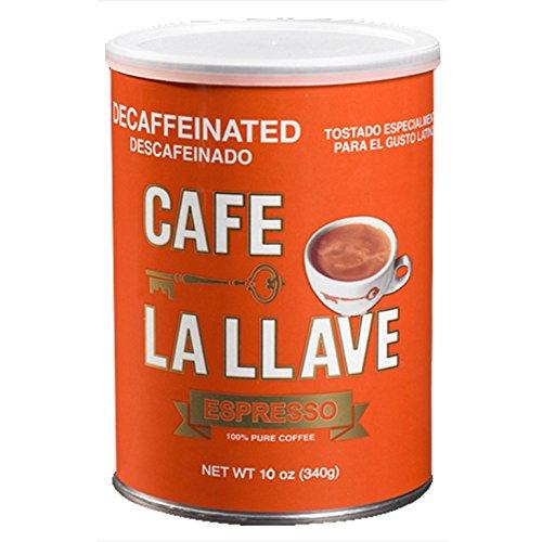Caf La Llave Decaf Espresso 10-Ounce Can