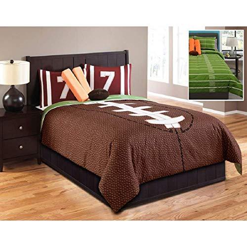 Hallmart Kids Touchdown Comforter Set, Full, 6 Piece