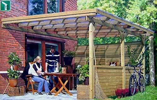 Terrassenüberdachung JUIST II Wintergarten 500x300cm Überdachung Terrasse