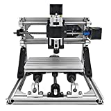 VEVOR CNC 1610 Router Kit GRBL Control CNC Machine 3 Axis Milling Engraving Machine XYZ Working Area 160x100x40mm for Plastic Acrylic PCB PVC Wood Carving