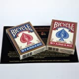 SOLOMAGIA 2 Deck of cards Regular Bicycle Poker - Blue and red back