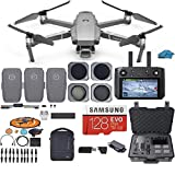 DJI Mavic 2 PRO Drone Quadcopter Fly More Combo with Hasselblad Camera, with Smart Controller, 3...