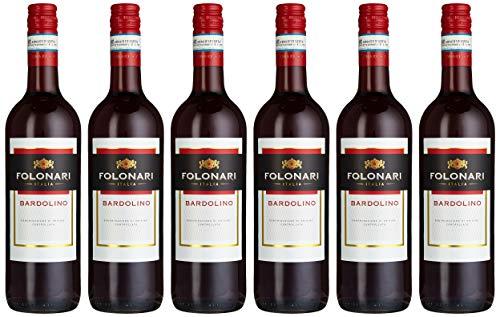 Folonari Bardolino Rosso Doc Rotwein Trocken (6 X 0.75 L)