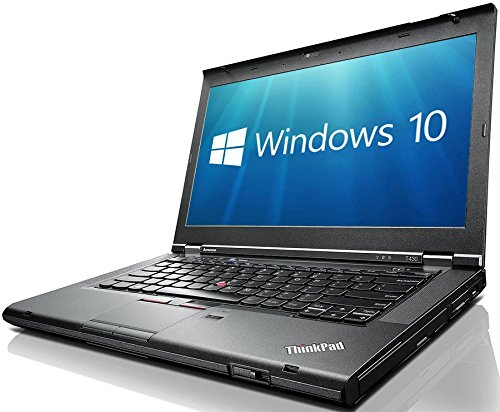 Lenovo ThinkPad T430 i5-3320M 2.6GHz 8GB RAM, 256GB SSD DVDRW 14.1 WXGA++ 1600x900 Webcam Windows 10...