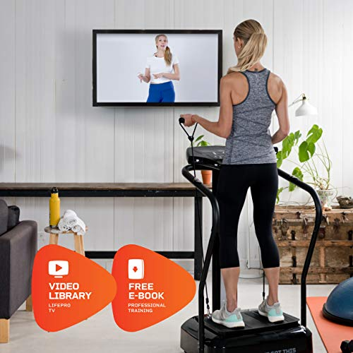 LifePro Rhythm Viberation Plate Machine - Professional Whole Body Vibration Platform for Home Fitness - Viberation Excersize Machine for Awesome Cardio Workout & Weight Loss 2